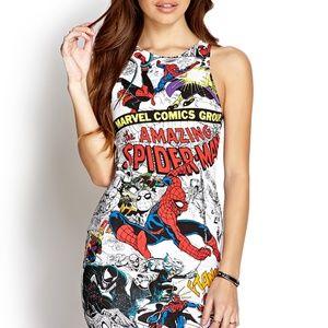 Marvel Spider-Man Bodycon Dress